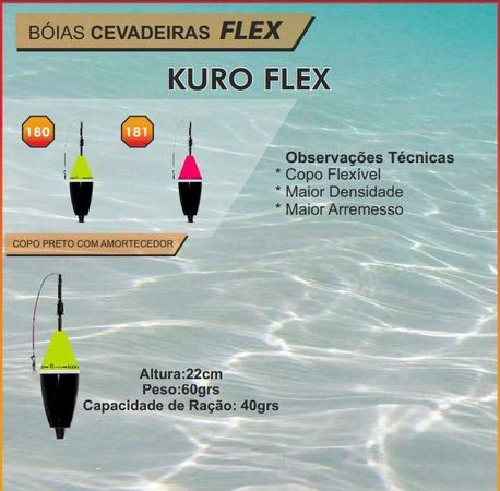 Boia Cevadeira Jr Kuro Flex 60gr