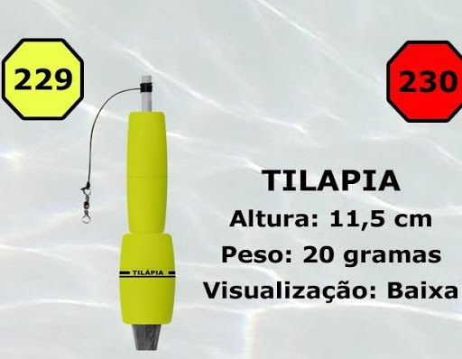 Boia Torpedo JR Tilapia 20G