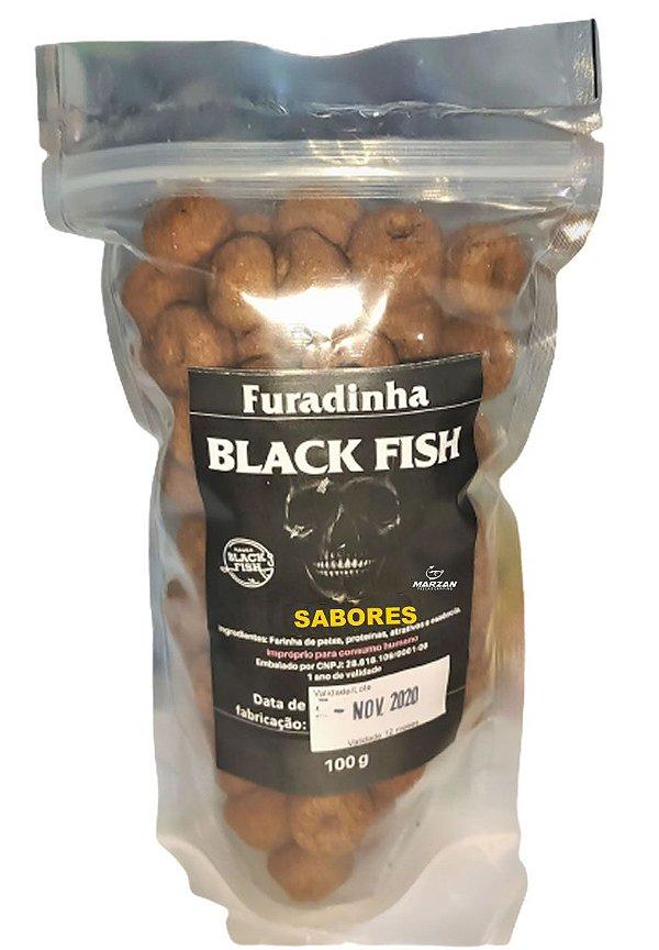 Massa Black Fish Furadinha -100g