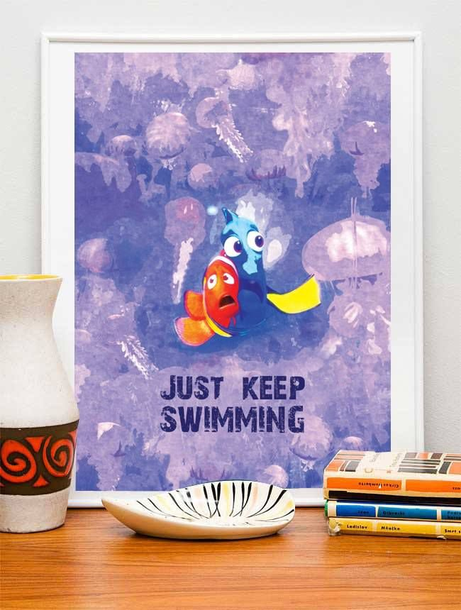 Pôster Procurando Nemo