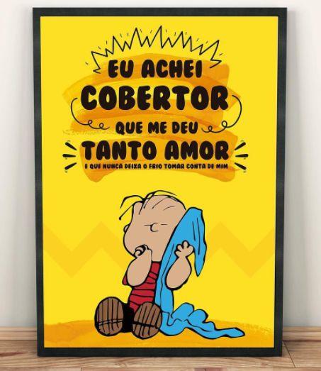 Pôster Cobertor Charlie Brown