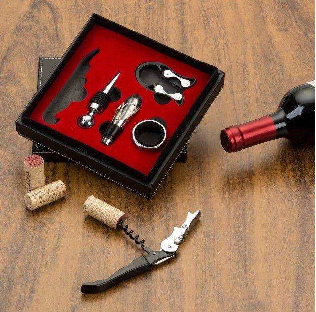 Kit Vinho 5 peças Personalizado