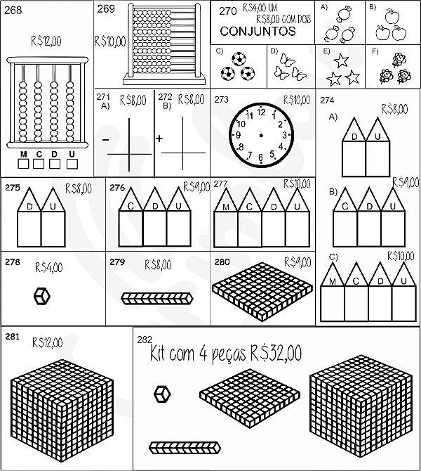 Carimbos de Matemática - Manual