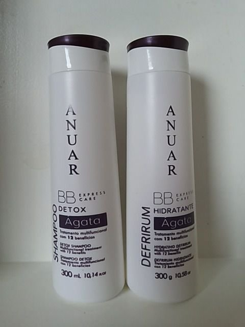 Anuar Kit B B Express Care Detox AGATA 300ml 12 Benefícios