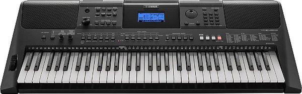 Teclado Arranjador Yamaha PSR-E453, 61 teclas sensitivas e fonte bivolt