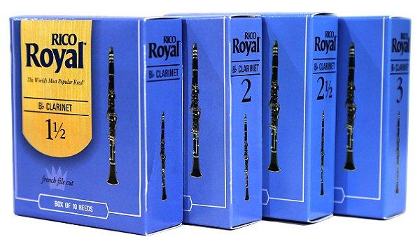 Palheta Clarinete Rico Royal