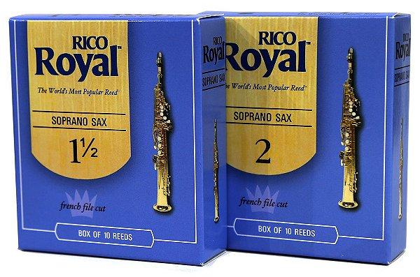 Palheta Saxofone Soprano Rico Royal