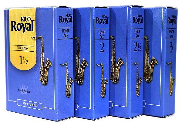 Palheta Saxofone Tenor Rico Royal