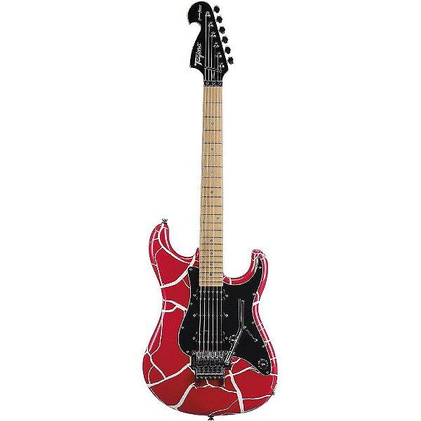 Guitarra Tagima JA2 Juninho Afram Signature - Vermelho Craquelado (acompanha Case)