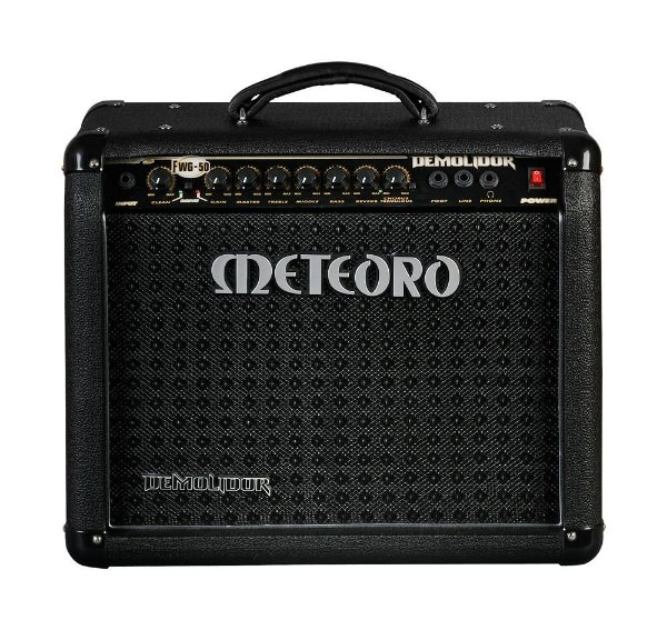 Amplificador Guitarra Meteoro Demolidor FWG-50, 50W RMS - Bivolt Manual