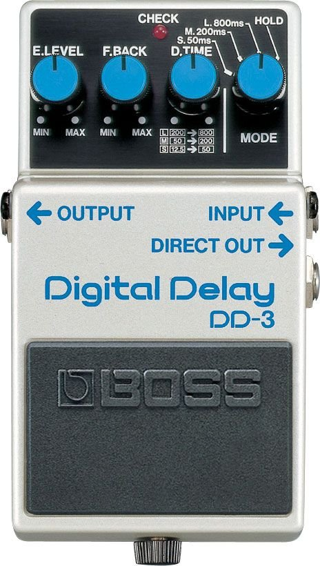 Pedal Digital Delay Boss DD-3