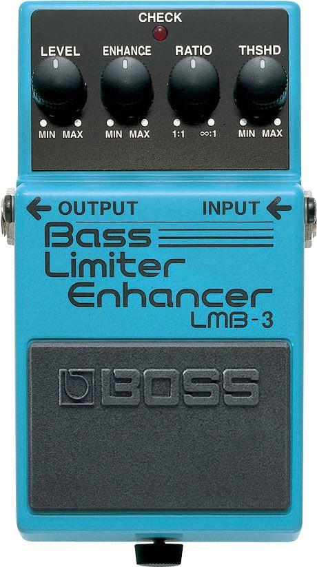 Pedal Contrabaixo Boss LMB-3 Bass Limiter/Enhancer