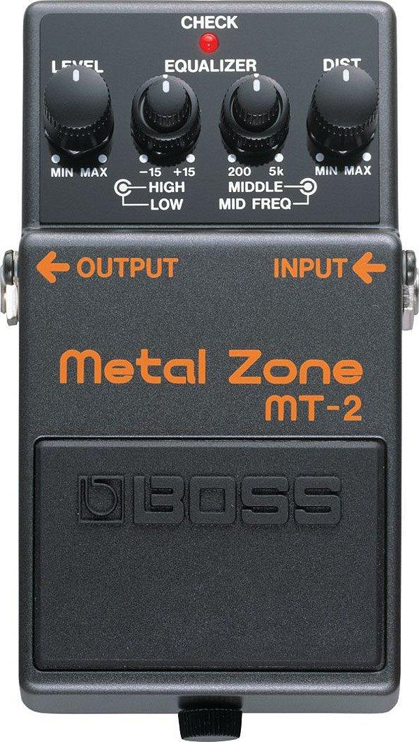 Pedal Guitarra Boss MT-2 Metal Zone