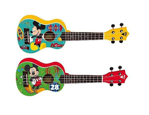 Ukulele Phoenix Soprano Infantil Disney Mickey com Capa