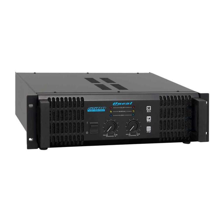 Amplificador de Potência Oneal OP 5500 500W Rms