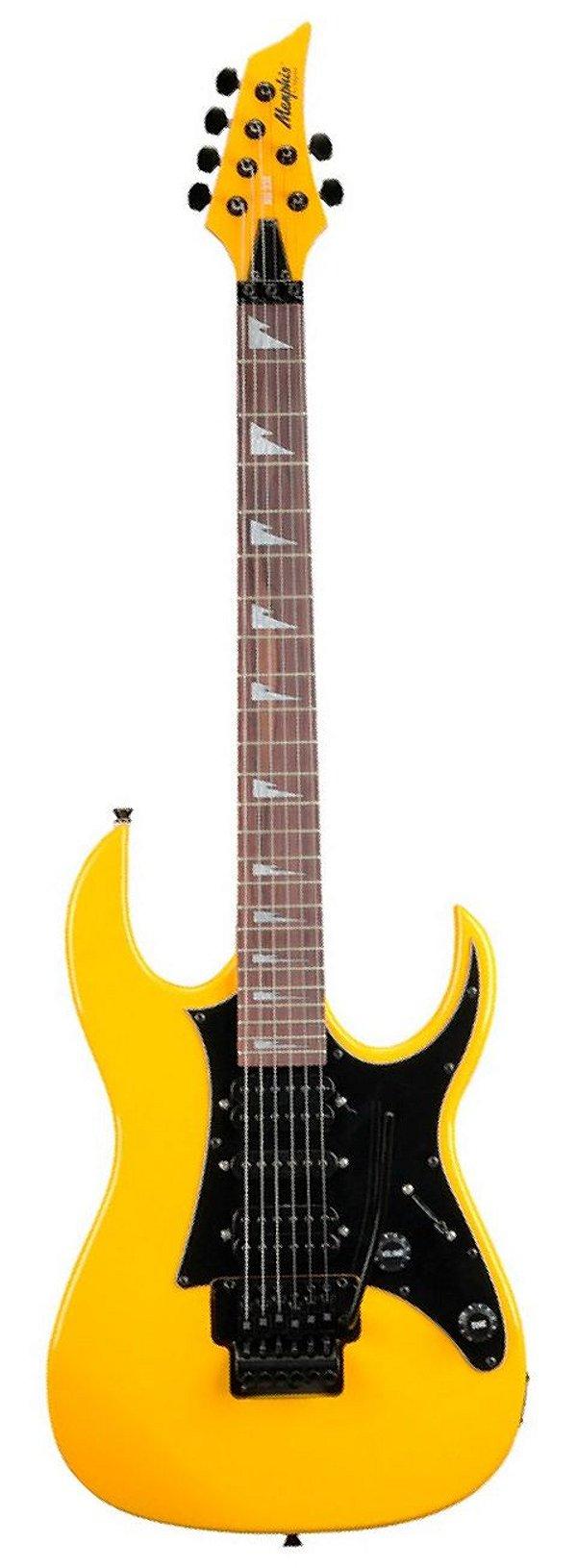 Guitarra Tagima Memphis MG 330 Amarelo Neon