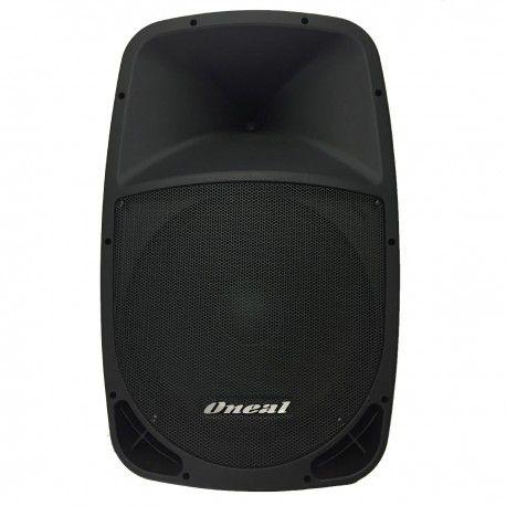 Caixa Ativa Oneal OPB 1115 BT 220W RMS USB/SD/FM Bivolt