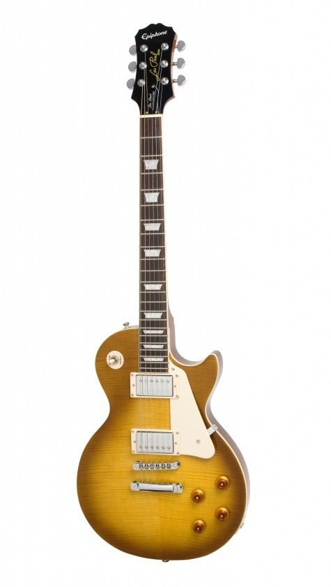 Guitarra Epiphone Les Paul Standard Plus Top PRO Honeyburst