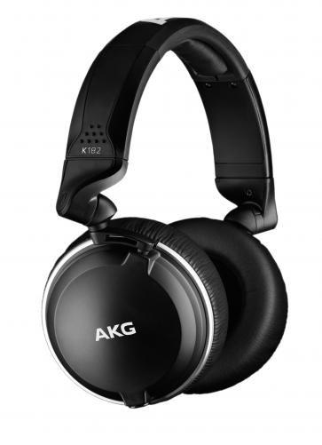 Fone de Ouvido Profissional Monitor Fechado AKG K182