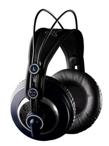 Fone de Ouvido Profissional Estúdio Semi-Aberto AKG K240 MKII