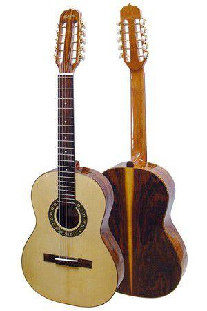 Viola Clássica Acústica Rozini Pro RV-112 Natural Verniz