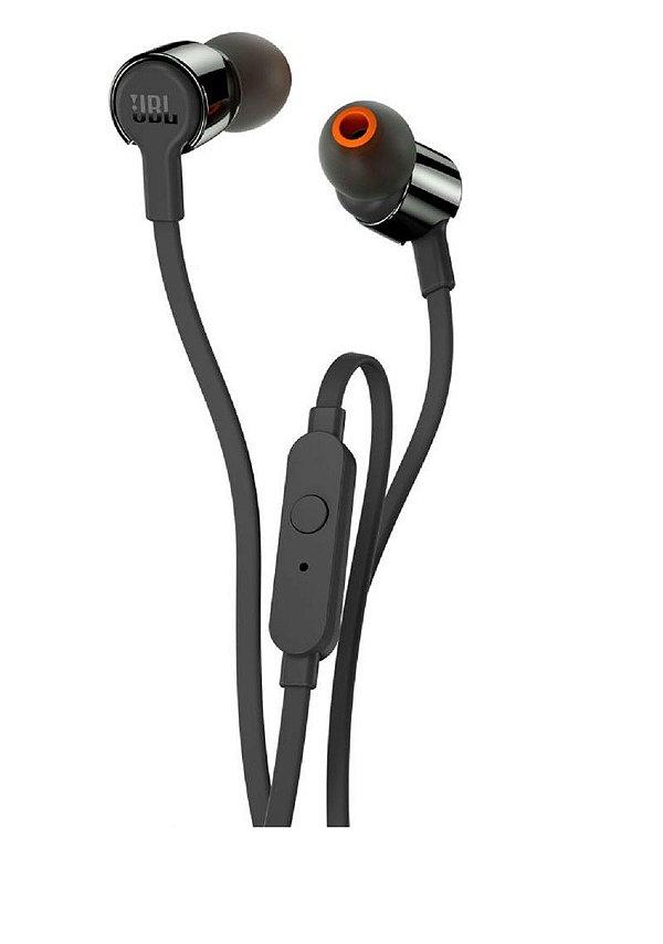 Fone de Ouvido In-Ear JBL T-210 Preto