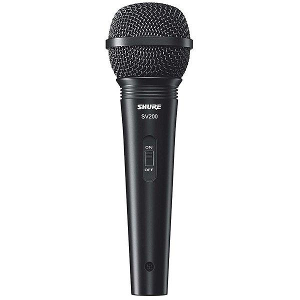 Microfone Shure SV-200, com Fio