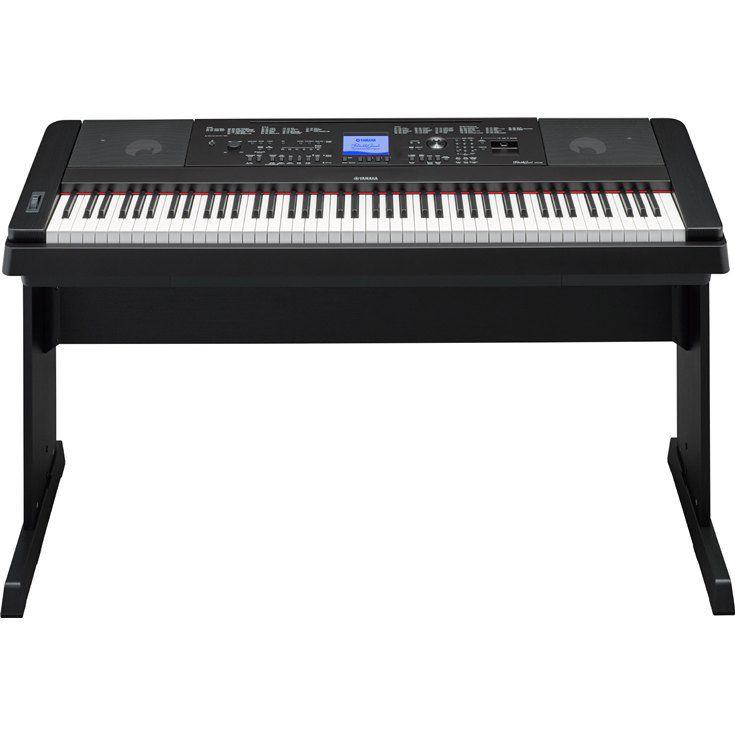 Piano Digital Yamaha DGX-660, 88 teclas com toque de piano