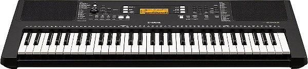 Teclado Yamaha PSR-E363, 61 teclas sensitivas e fonte bivolt
