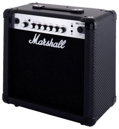 Combo Guitarra Marshall MG-15 CFR Carbon Fiber 15W