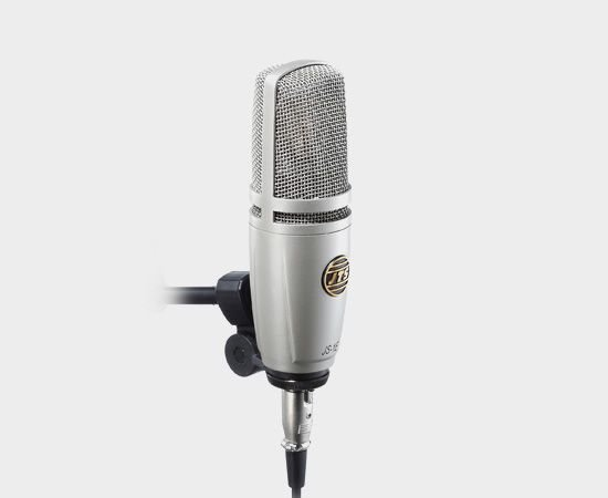 Microfone JTS Condensador de Estúdio JS-1E