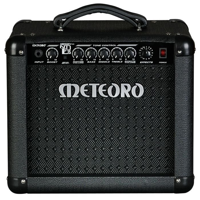 Amplificador Guitarra Meteoro Nitrous Drive NDE-15 15W RMS Seminovo - Bivolt Manual