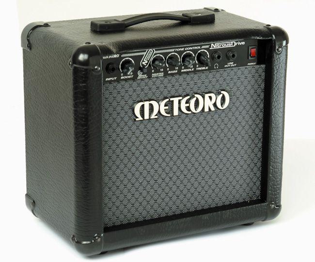 Amplificador Guitarra Meteoro Nitrous Drive 15W RMS - Bivolt Manual