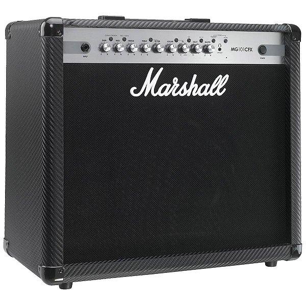 Amplificador Guitarra Marshall MG-101 CFX Carbon Fiber 100W