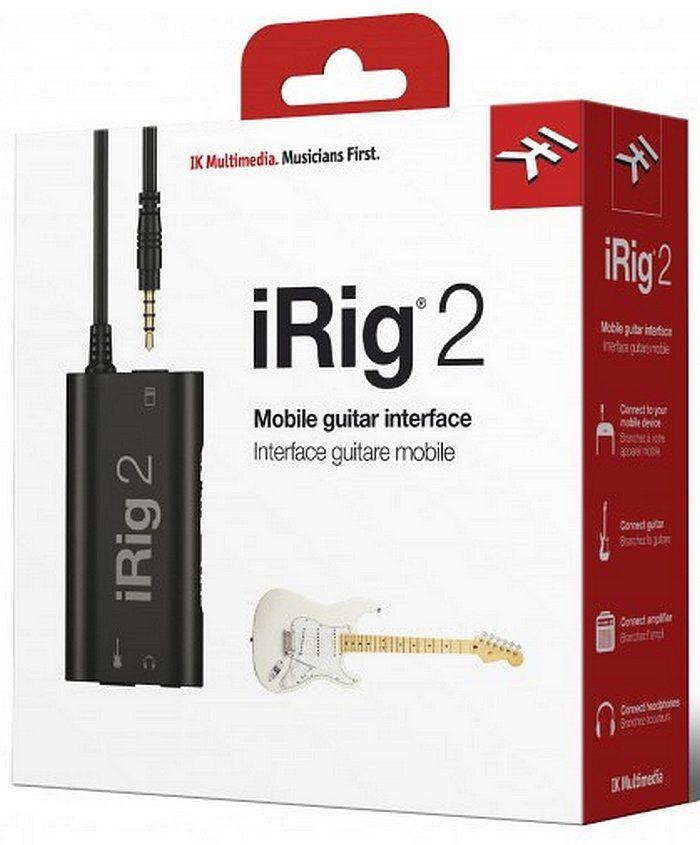 Interface iRig 2   IK Multimedia   Para Guitarra