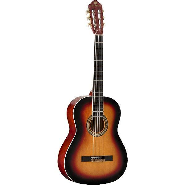 Violão Acústico Harmonics GNA 111 Nylon Sunburst