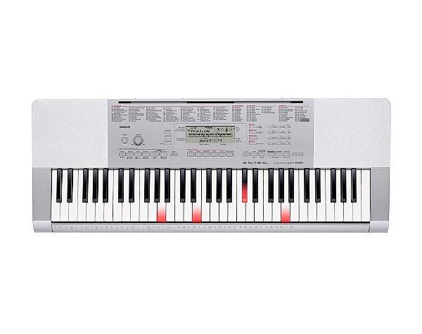 Teclado Casio LK-280, 61 teclas sensitivas e fonte bivolt