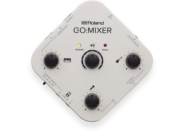 Interface de Áudio para Smartfones Roland Go:Mixer