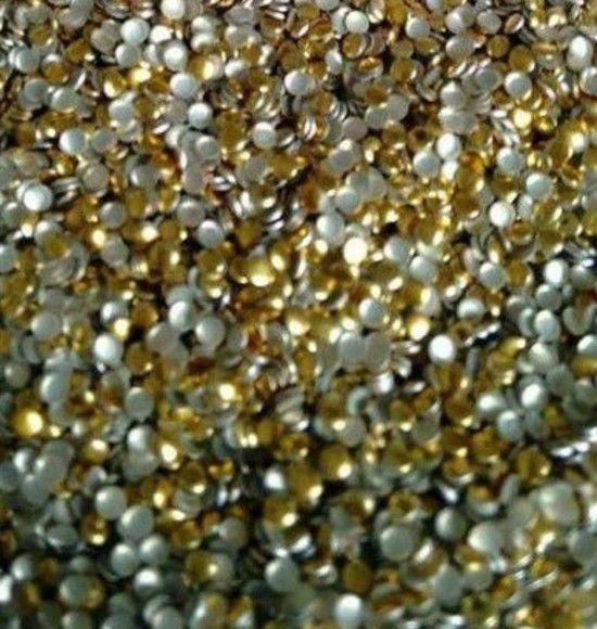 Chapinha Dourada 1.5mm - C/ 500 unidades