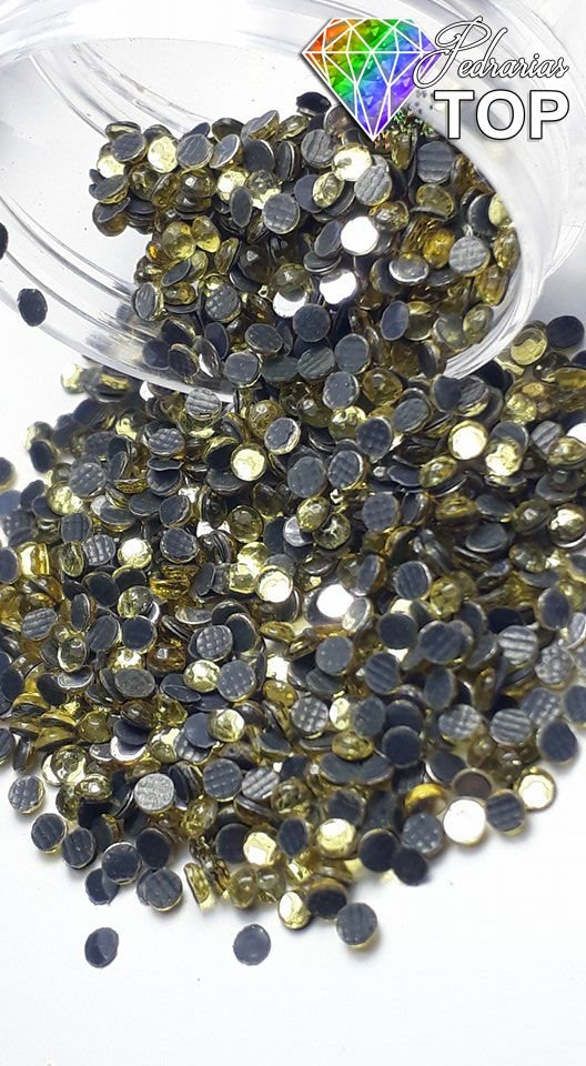 Strass Dourado 1.8mm - Aprox. 500 unidades