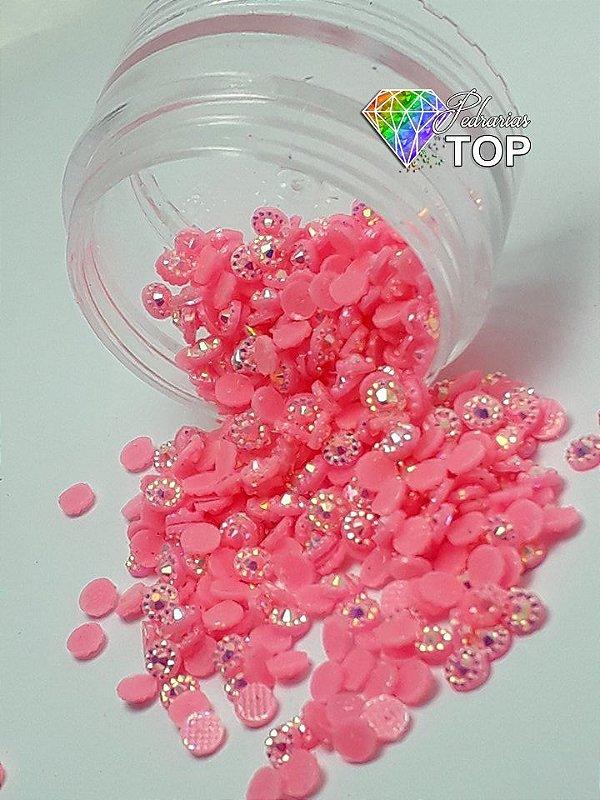 Margarida rosa 3mm - 150 unidades