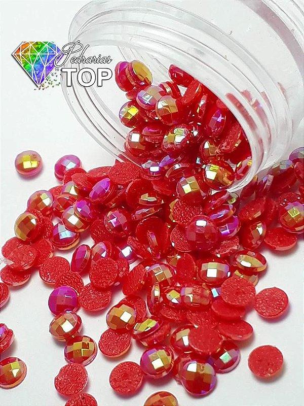 Chaton boreal vermelho 4mm - 30 unidades