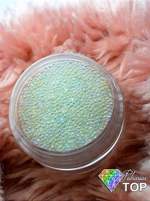 Caviar translúcido furta cor 1mm ( NÃO MANCHA) - Aprox.3 gramas