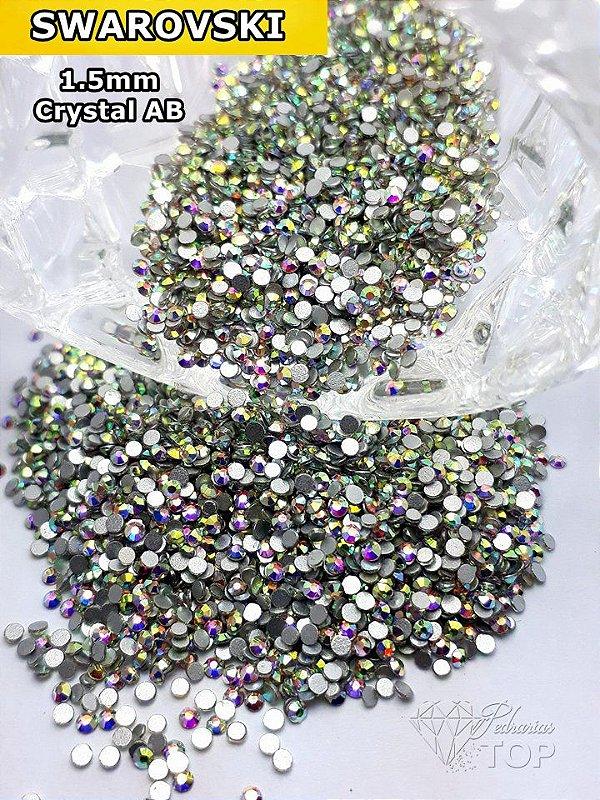 Crystal Swarovski 2mm - 100 unidades