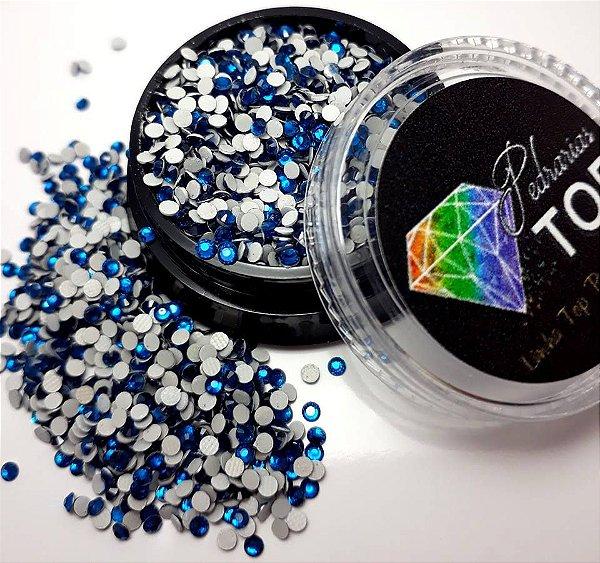 Cristal strass azul 1.8mm - Aprox. 500 unidades