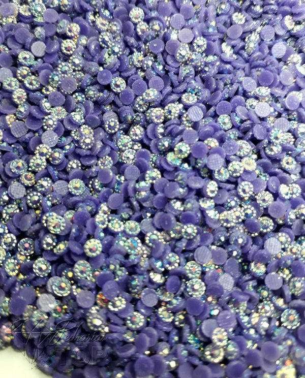 Margarida violeta 3mm - 150 unidades