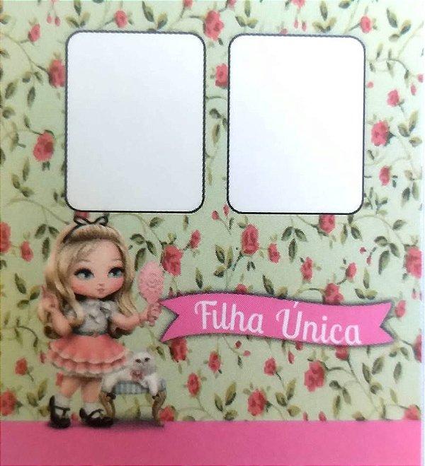 Cartão filha única ref. 0010 - 100 unidades (Não precisa pasta L)