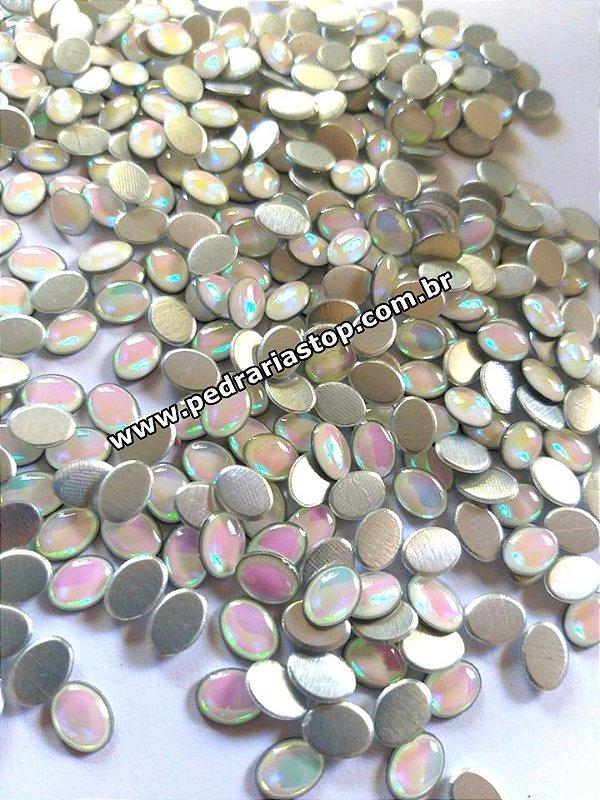 Oval epoxy furta cor 6x8 c/ 30 unidades