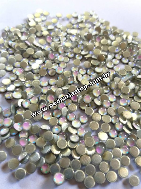 Chaton redondo epoxy furta cor 4mm c/ 40/50 unidades