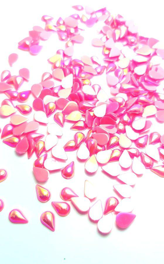 Gota boreal pink 4x6 c/ 30 pcs